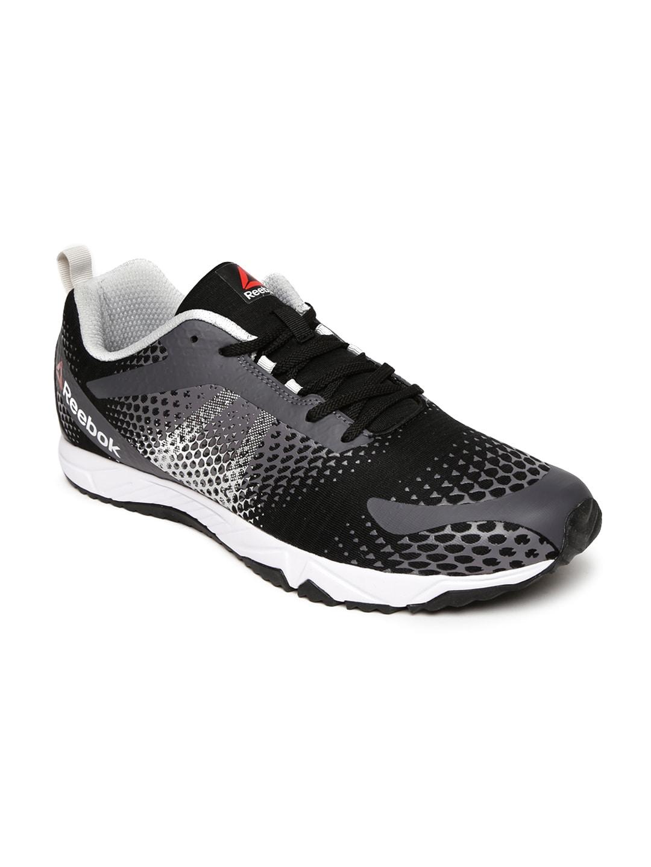 edf69f8edf1c3d Reebok bs6972 Men Grey And Black Blaze Running Shoes- Price in India