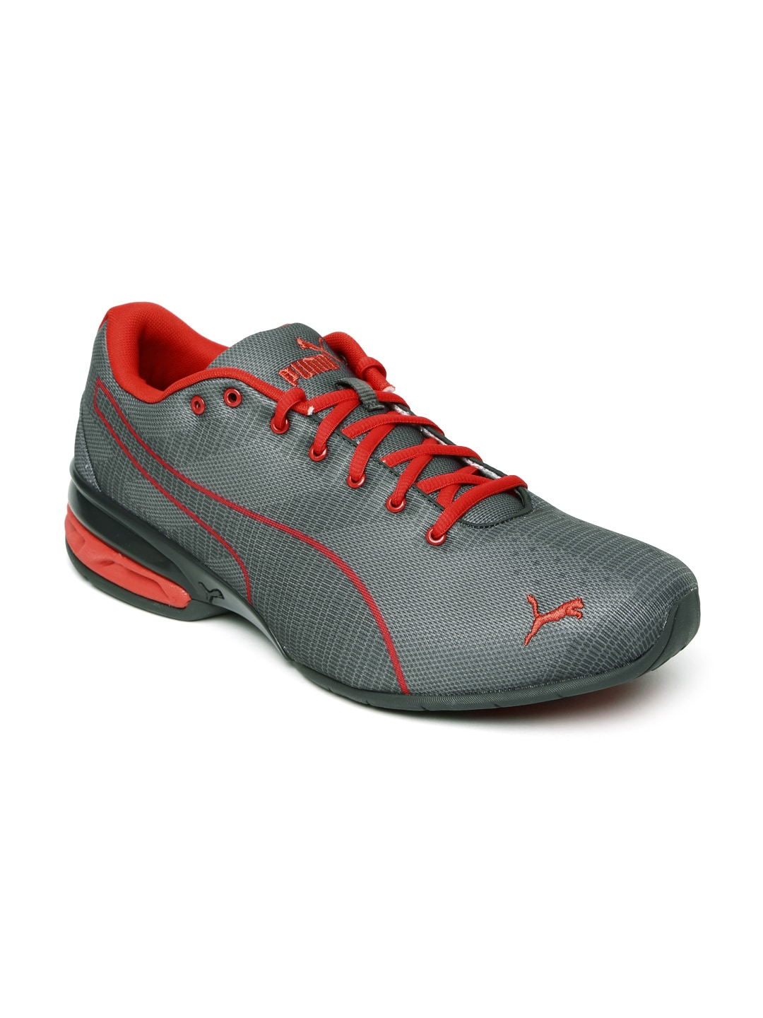 b71be61365be Puma 18949703 Men Grey Tazon 6 Wov Running Shoes - Best Price ...