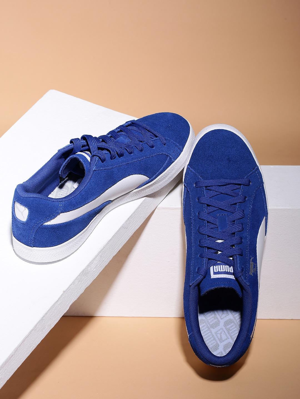 7fb625fff8b2 Buy Puma Men Grey   White Match Vulc 2 Sneakers - Casual Shoes for ...
