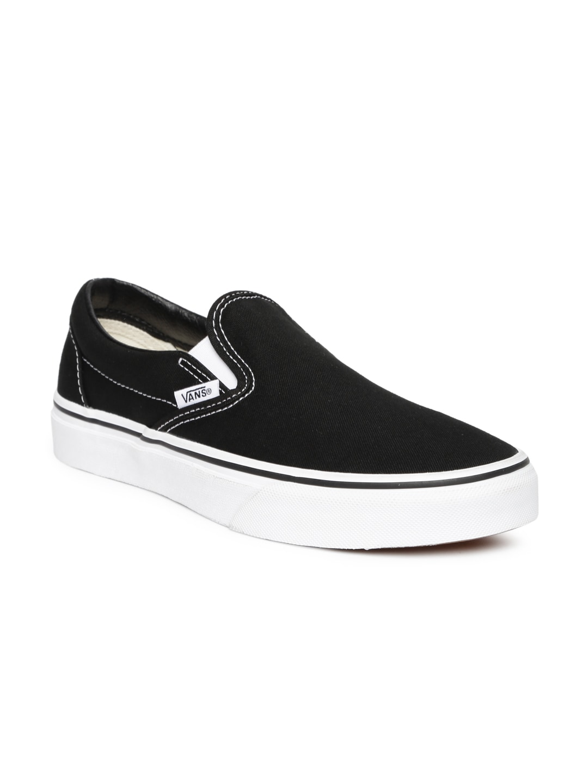 6ba22e5589 Vans vn000ybxdfg1 Unisex Navy Classic Slip On Sneakers - Best ...