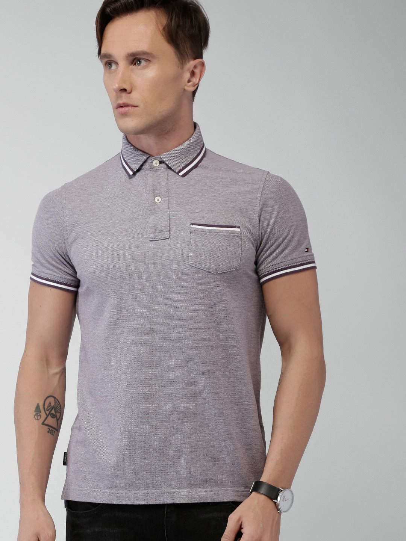 Design your t shirt myntra - Buy Tommy Hilfiger Men Navy Blue Self Design Polo T Shirt Tshirts For Men Myntra
