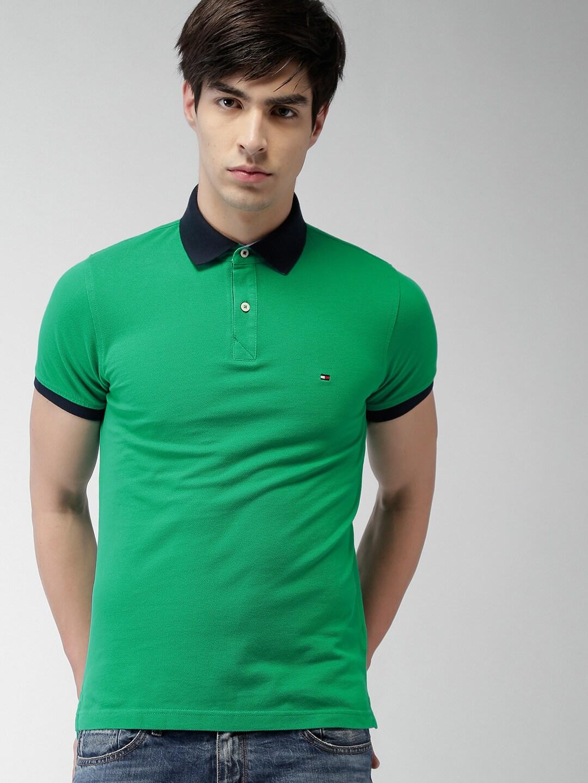 Design your t shirt myntra - Buy Tommy Hilfiger Men Grey Self Design Polo T Shirt Tshirts For Men Myntra
