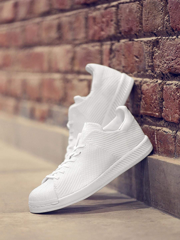 c52489afb Adidas s82240 Originals Men White Superstar Bounce Pk Textured Sneakers-  Price in India