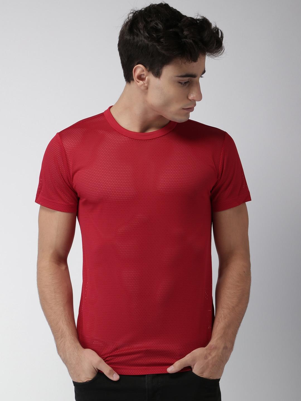 Design your t shirt myntra - Forever 21 Men White Self Design T Shirt