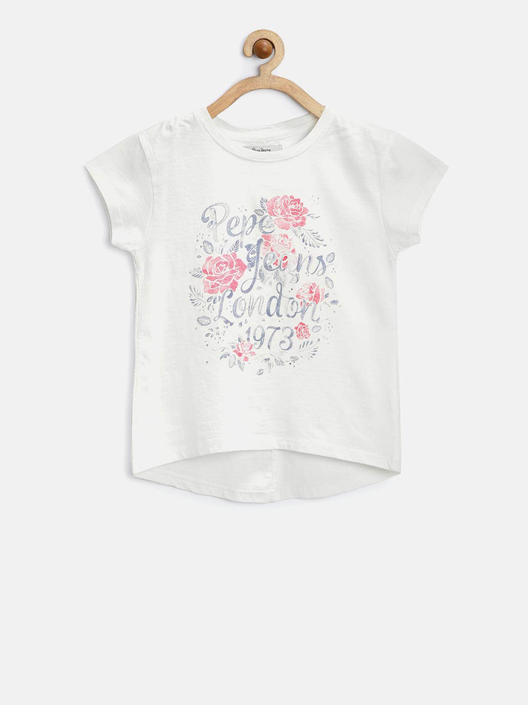 Buy Pepe Jeans Girls Pink Printed T Shirt Tshirts For Girls