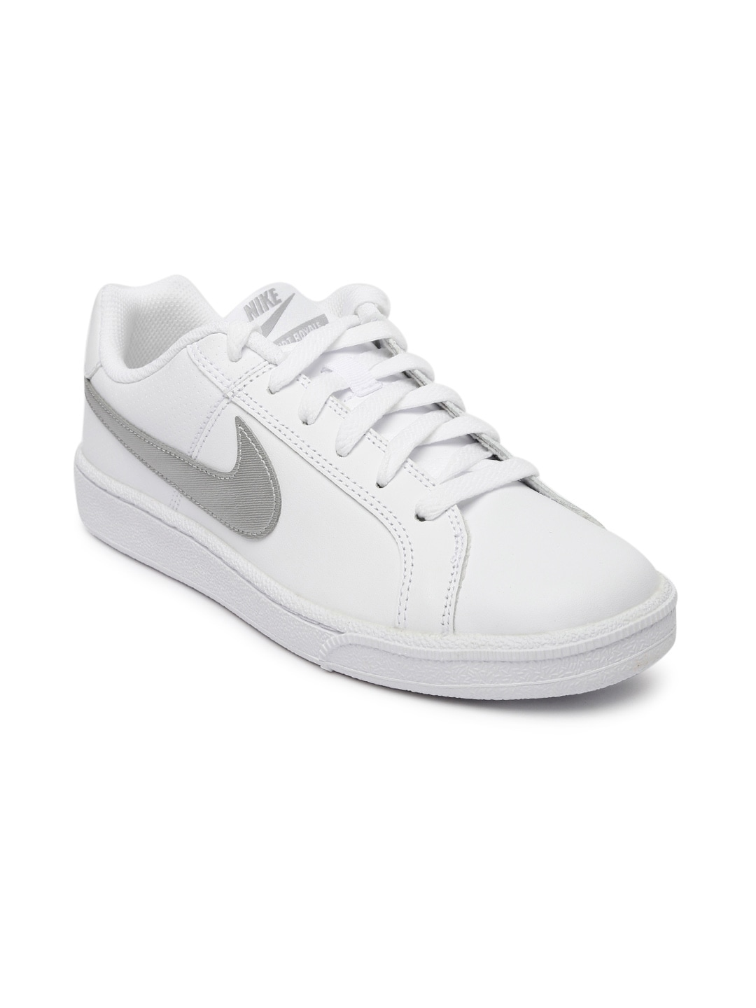Buy Nike Women White EBERNON LOW Sneakers - Casual Shoes for Women ... 1103f0b1b3ed