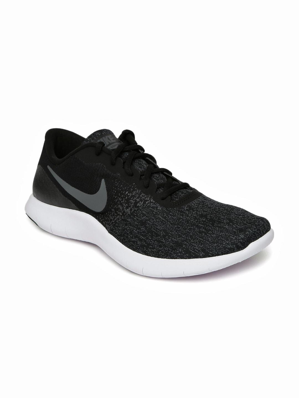 3f064f220611 Buy Nike Men Black Free Run Distance 2 Running Shoes - Sports Shoes ...