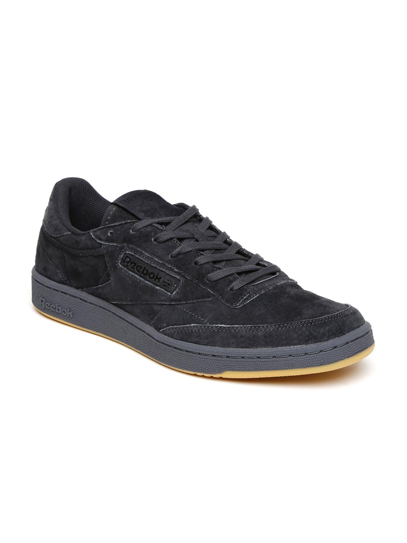 c141d7986d666c Buy Reebok Classic Men Olive Green CLUB C 85 SG Suede Sneakers ...