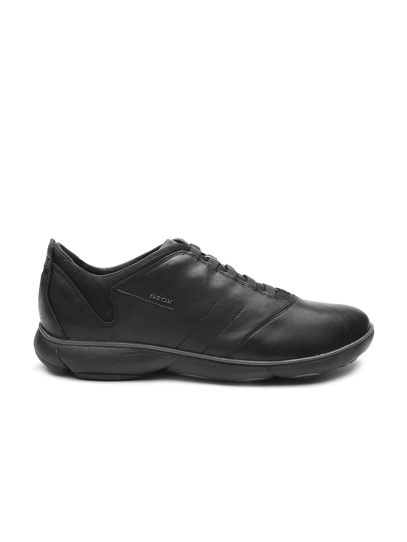 245b7bcc38 Buy GEOX Nebula Respira Men Black Breathable Italian Patent Leather ...