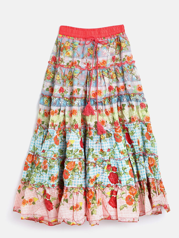 84c24bb31 Yellow Long Skirt Online India | Saddha
