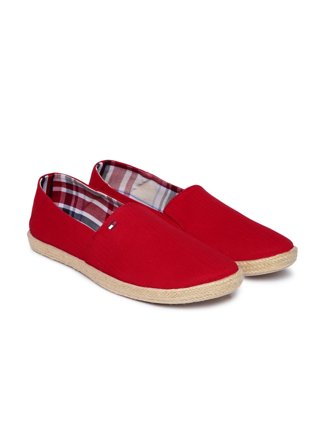 613d5ebb1 Buy Lacoste Men Red Slip On Sneakers - Casual Shoes for Men 7342570 ...