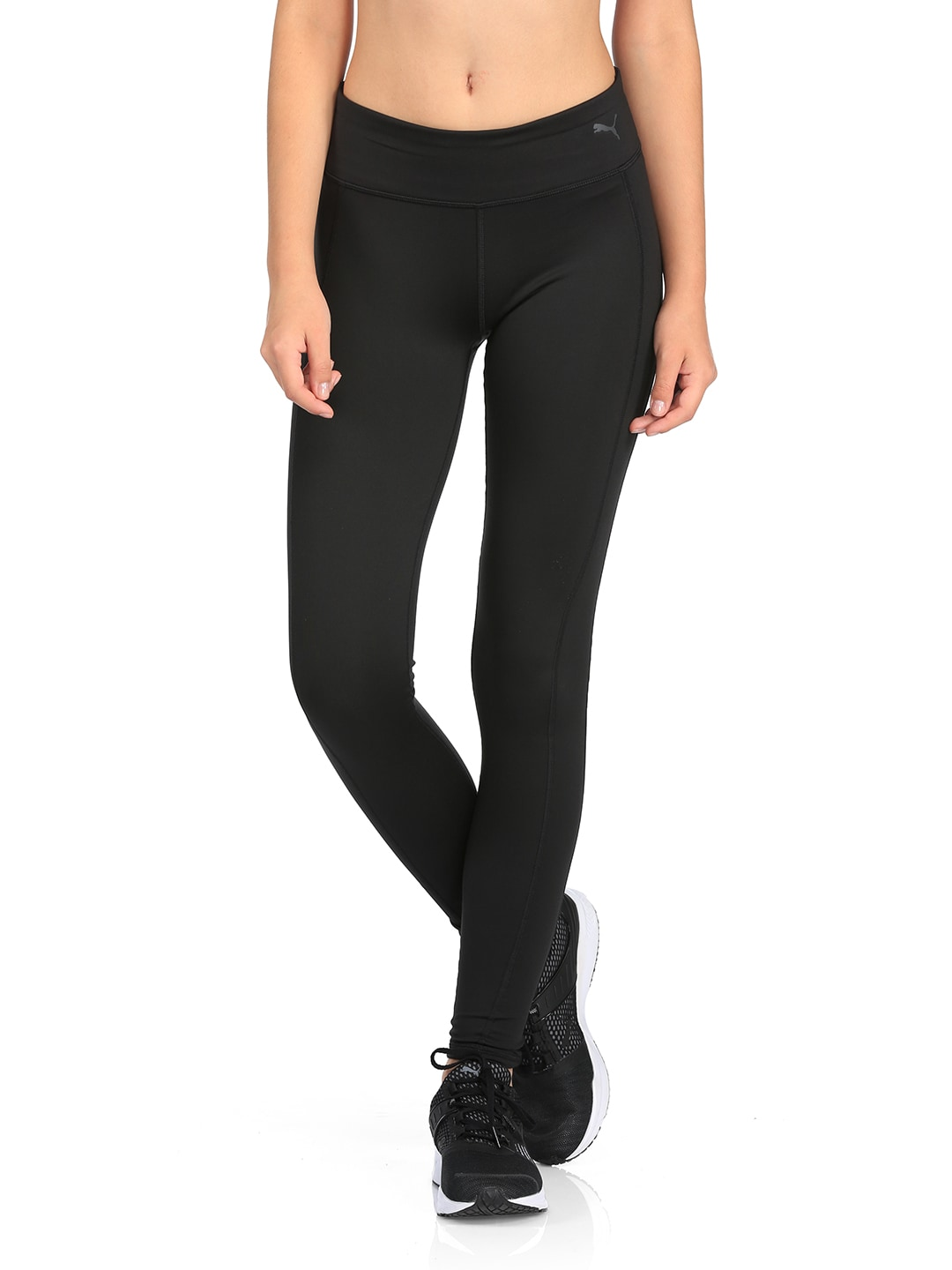 the latest 4d73a 06c8f Buy Puma Black Yogini Lux Tights - Tights for Women 2084486   Myntra