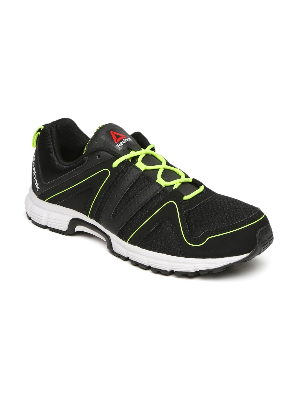 Buy Reebok Men Black Fuel Race Running Shoes - Sports Shoes for Men ... 2e4331ee3
