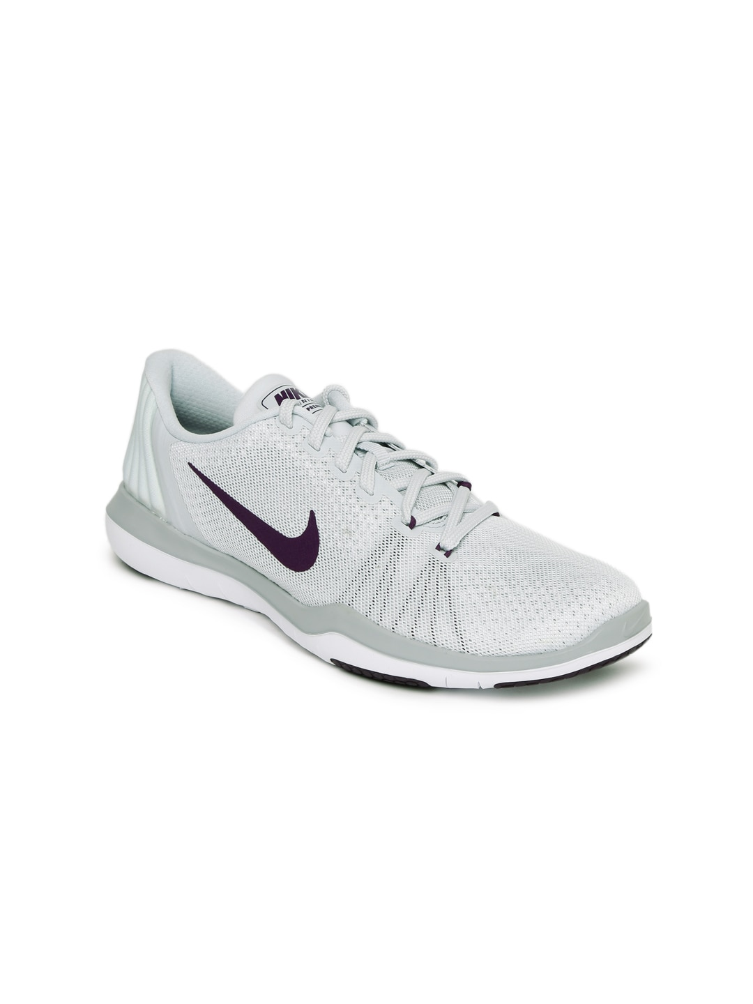 af9e4a15d7606 Nike Flex Supreme Tr 5 White Training Shoes for women - Get stylish ...