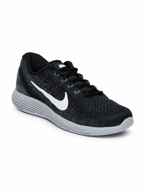 3c62b470a79ce Buy Nike Men Charcoal Grey Lunarglide 8 Running Shoes - Sports Shoes ...
