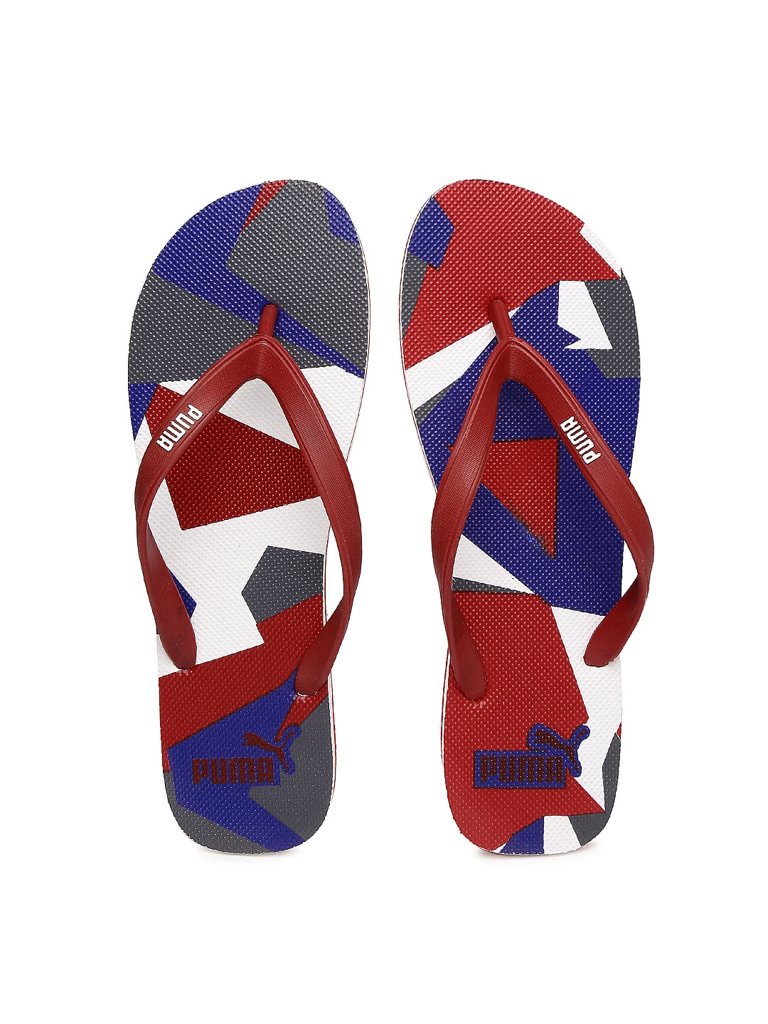 51706a5c126a Puma Odius Idp H2t Red Flip Flops for Men online in India at Best ...