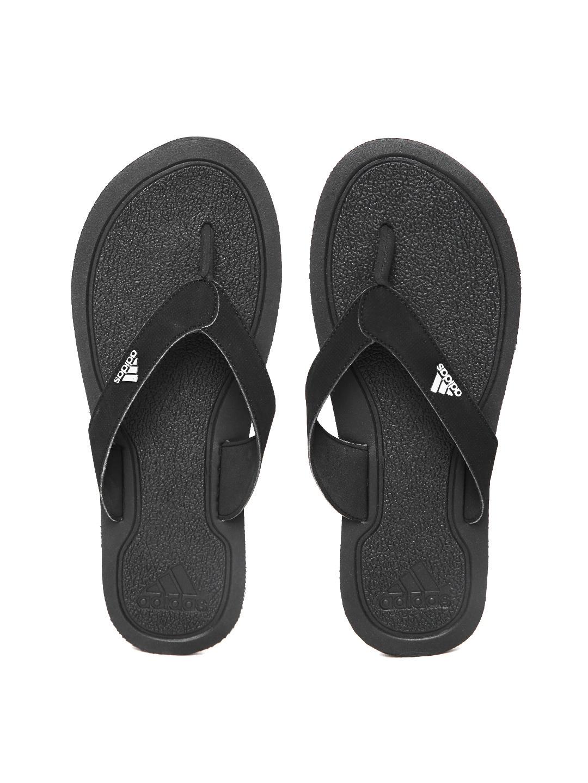 61fc0183c913 Adidas Black Flip Flops for Men online in India at Best price on 2nd ...