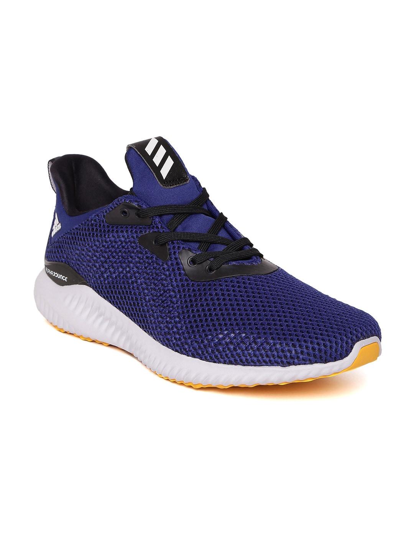 722fd3eeab373 Buy ADIDAS Men White   Black Alphabounce CK Running Shoes - Sports ...