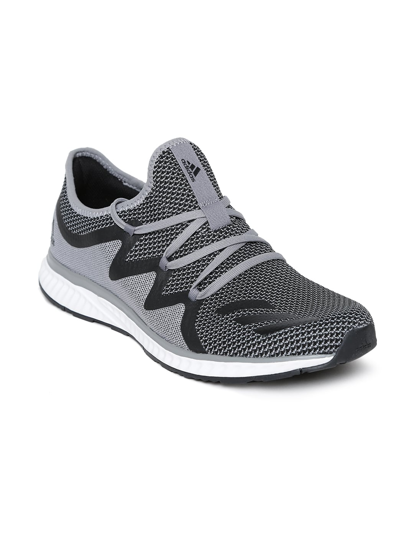 new product 59854 01e4f ADIDAS Men Grey Melange MANA BOUNCE 2 M ARAMIS Running Shoes