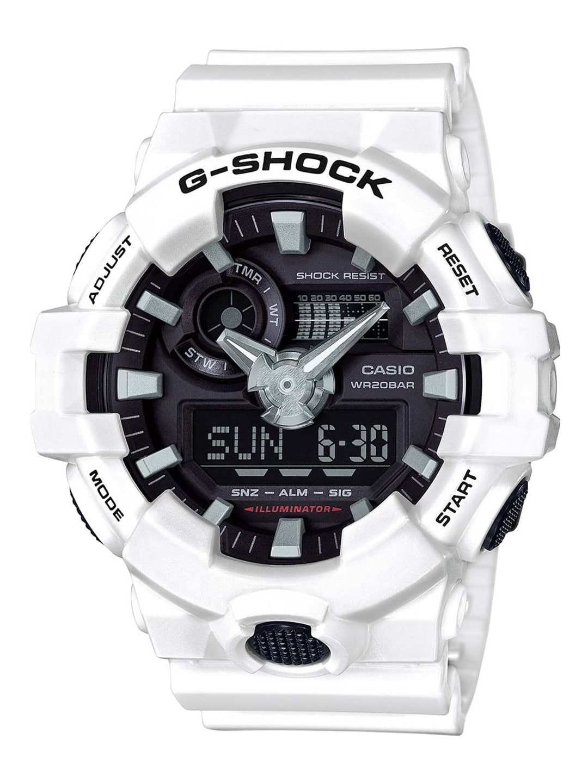 fd7285200 Buy CASIO G Shock Men Blue Chronograph Analogue   Digital Watch GA ...