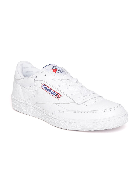 aa5b7de581a Buy Reebok Classic Men White Royal Complete CLN Sneakers - Casual ...