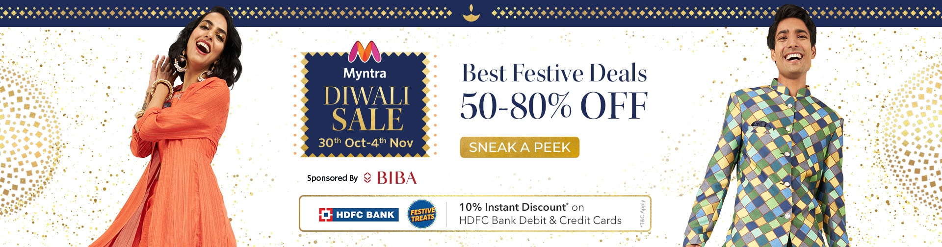 - Diwali Sale – 10% OFF on all products
