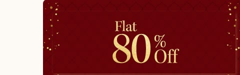 myntra.com - Avail Flat 80% Discount on select products