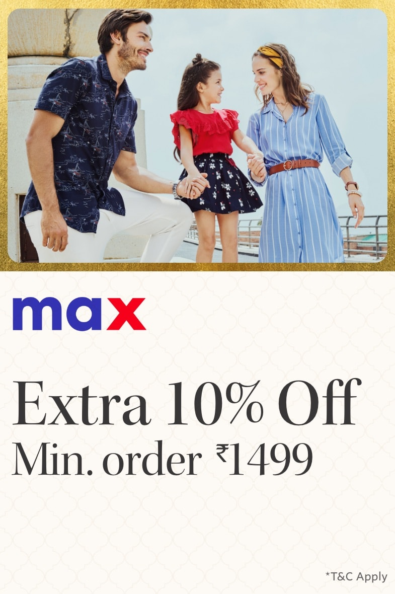 myntra.com - Avail Extra 10% OFF on Max Fashion for all
