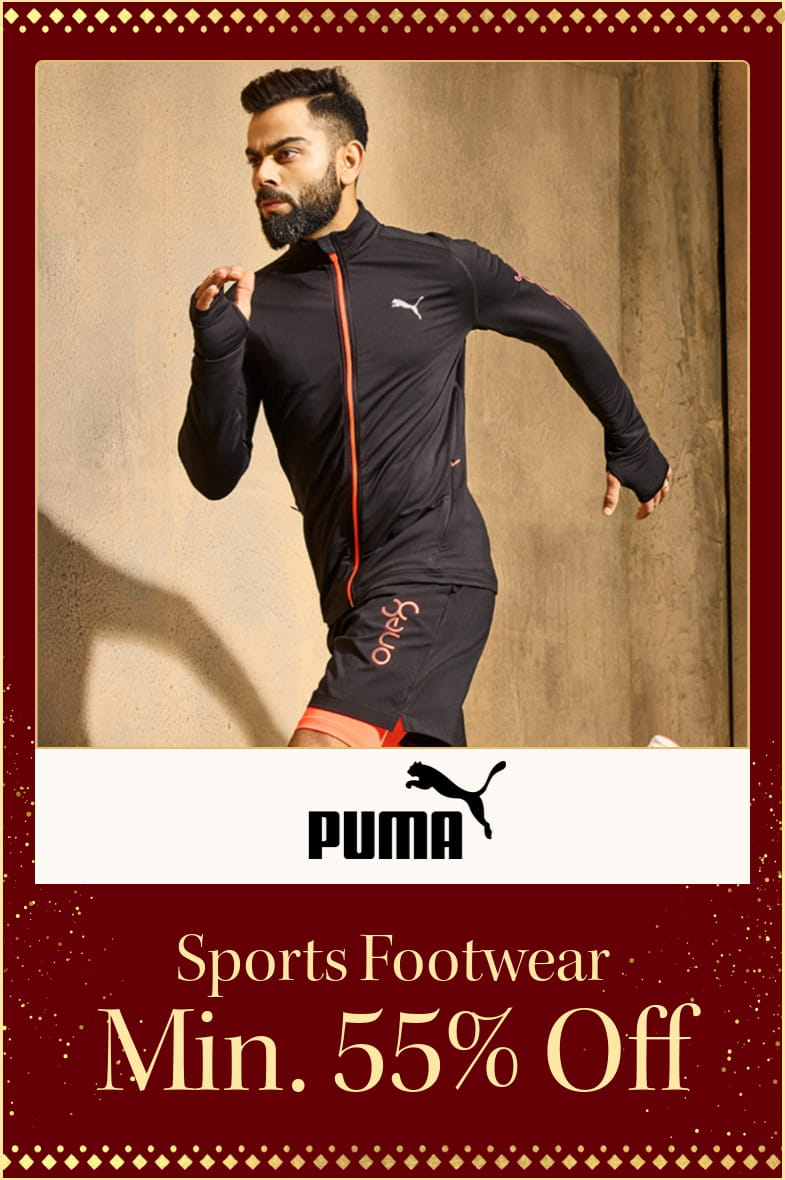 myntra.com - Get Flat 55% discount on Puma Sports Footwear