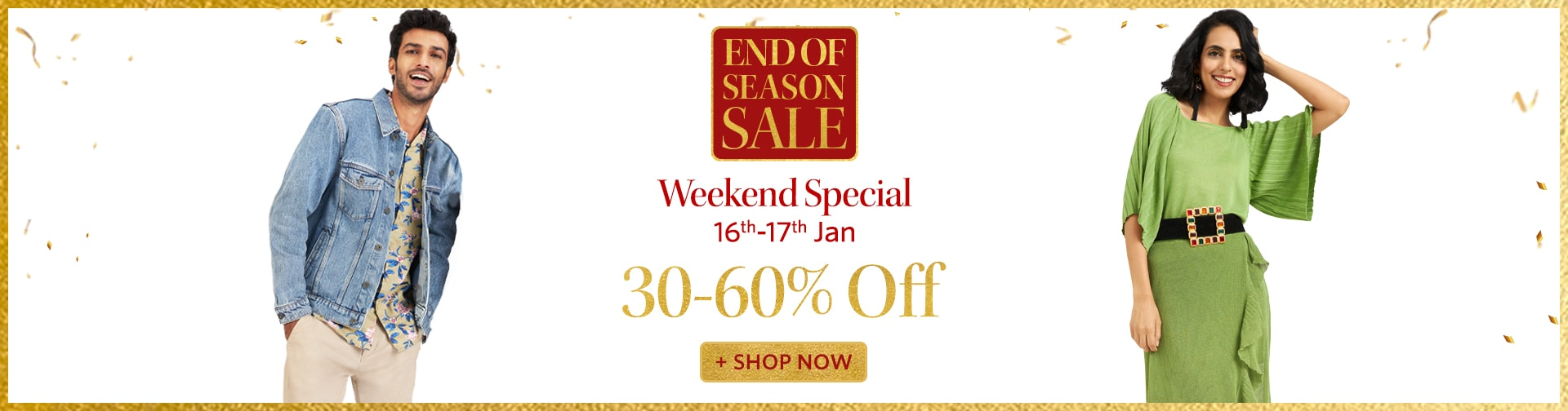 myntra.com - Up To 60% Discount on all products