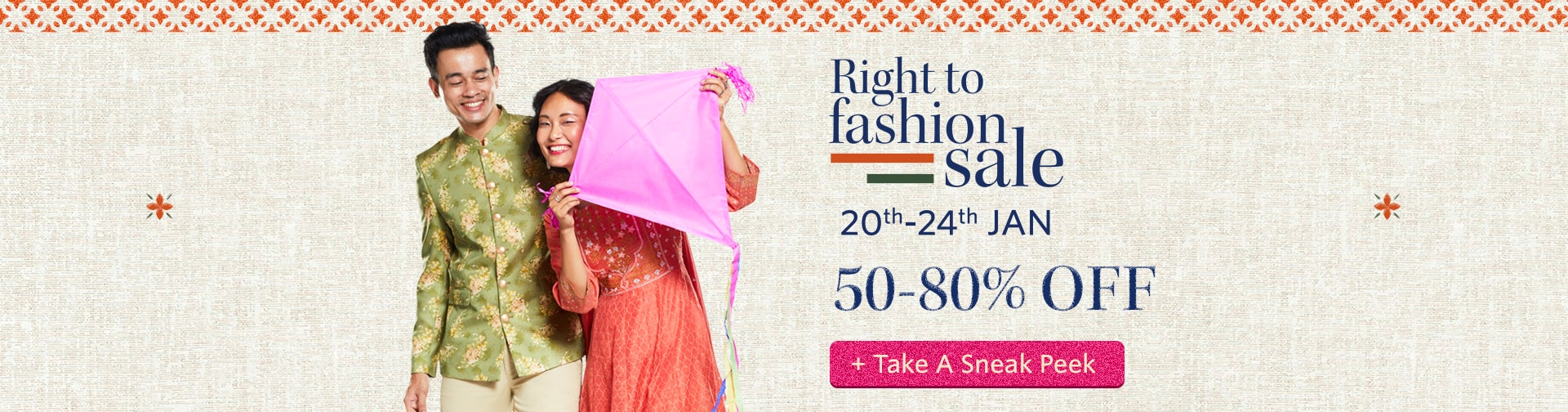 myntra.com - End of Reason Sale – Get Upto 80% Discount on all products