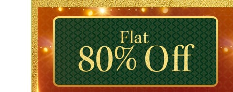 myntra.com - 80% discount on all products