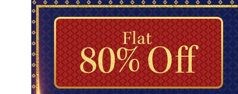 myntra.com - Flat 80% Off on all products