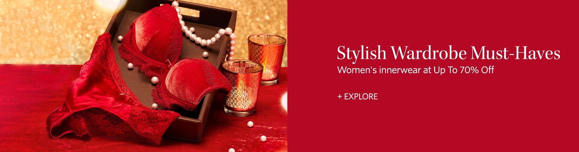 myntra.com - Up to 70% discount on Women's Lingerie and Loungewear