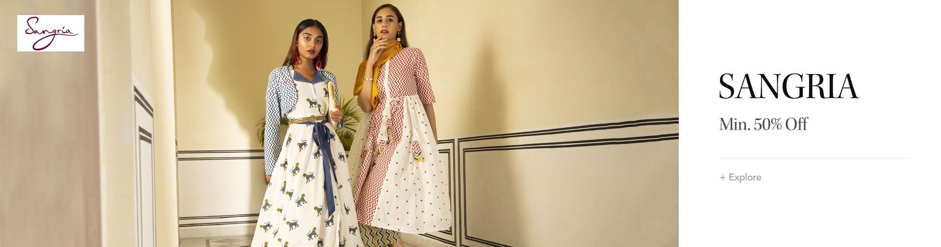 myntra.com - Flat 50% Discount on Sangria Women's Fashion