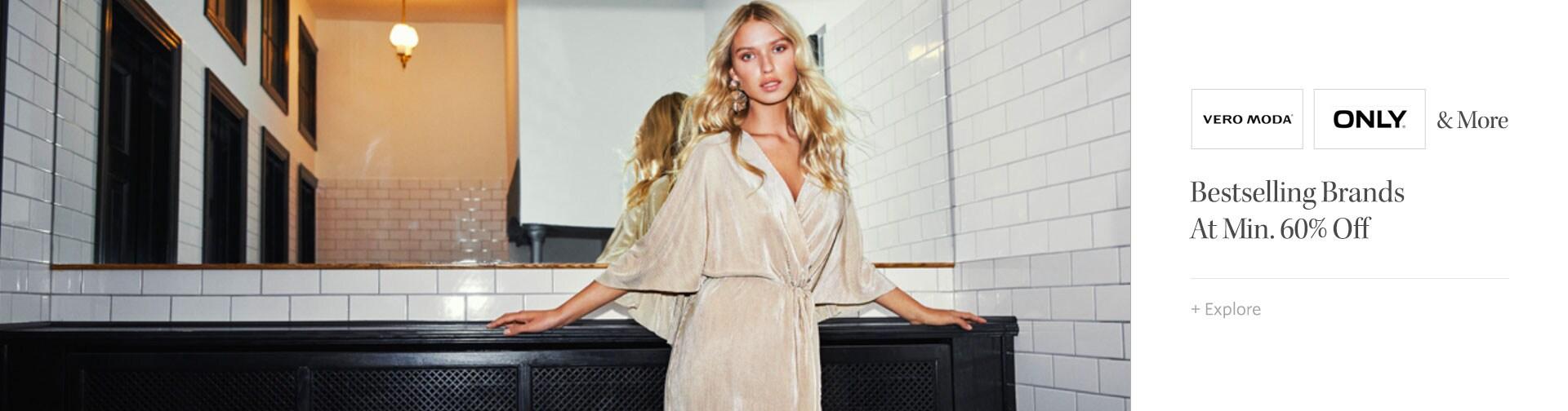 myntra.com - Get Flat 60% OFF on Women's Fashion Apparel