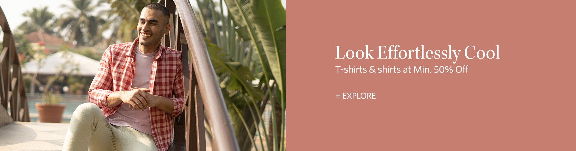 myntra.com - Avail 50% off on Men's Shirts and T-shirts