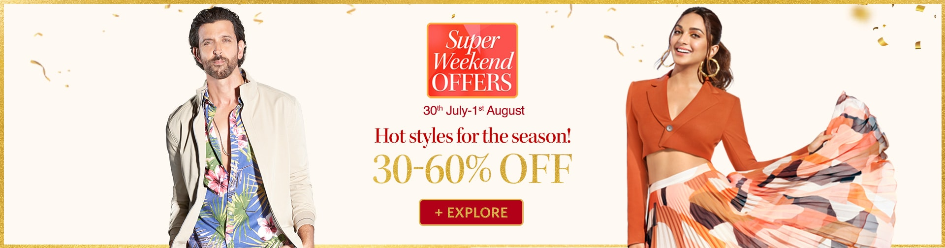 myntra.com - Avail Upto 60% Off on most products