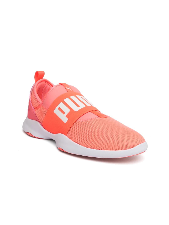 ff36fb6ae25 Buy Puma Women Olive Green Solid Rebel VR Mid Top Slip On Sneakers ...