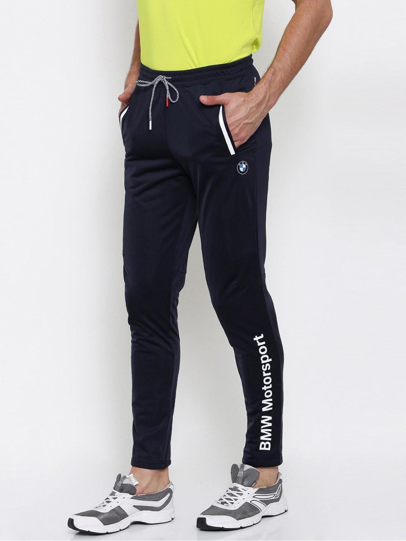 72bc2d0f7136 Buy Puma Men Navy BMW Motor Sport Solid Joggers - Track Pants for ...