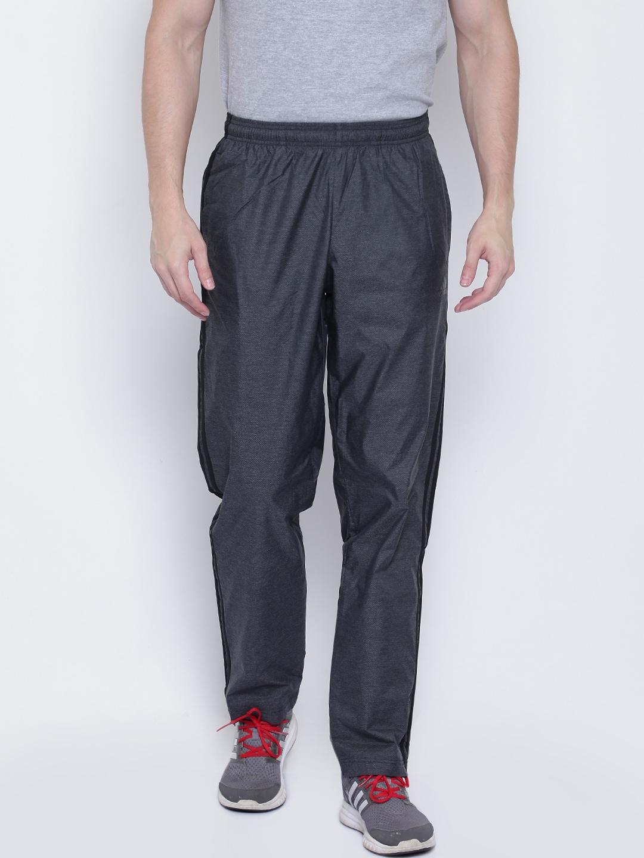 e45db2153 Buy ADIDAS Men Black Essentials 3 Stripes Woven Track Pants - Track ...