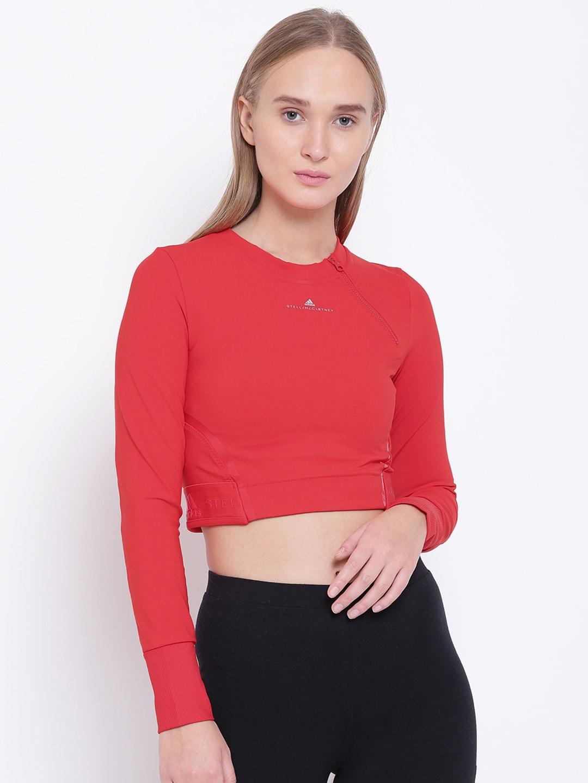 f01a1d8b7ac Buy ADIDAS Originals Women Black SC Crop T Shirt - Tshirts for Women ...
