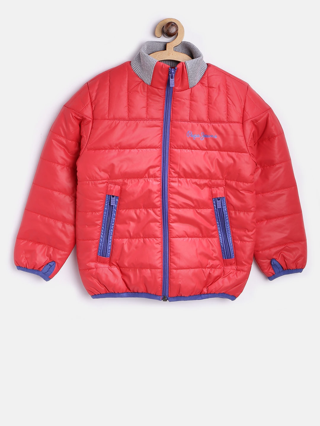 1a8bbfd8d426 Buy Pepe Jeans Boys Red Bomber Jacket - Jackets for Boys 2125765 ...