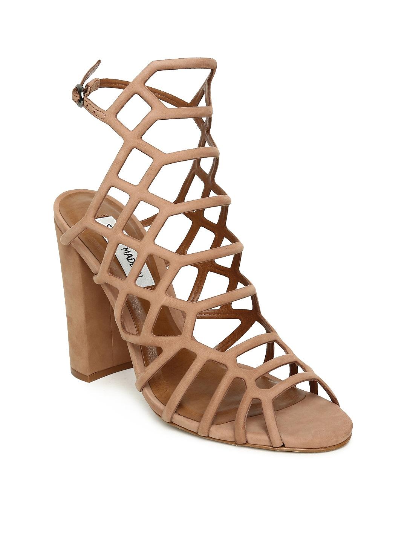 b588dc8108e Buy Steve Madden Women Bronze Toned Solid Sandals - Heels for Women ...