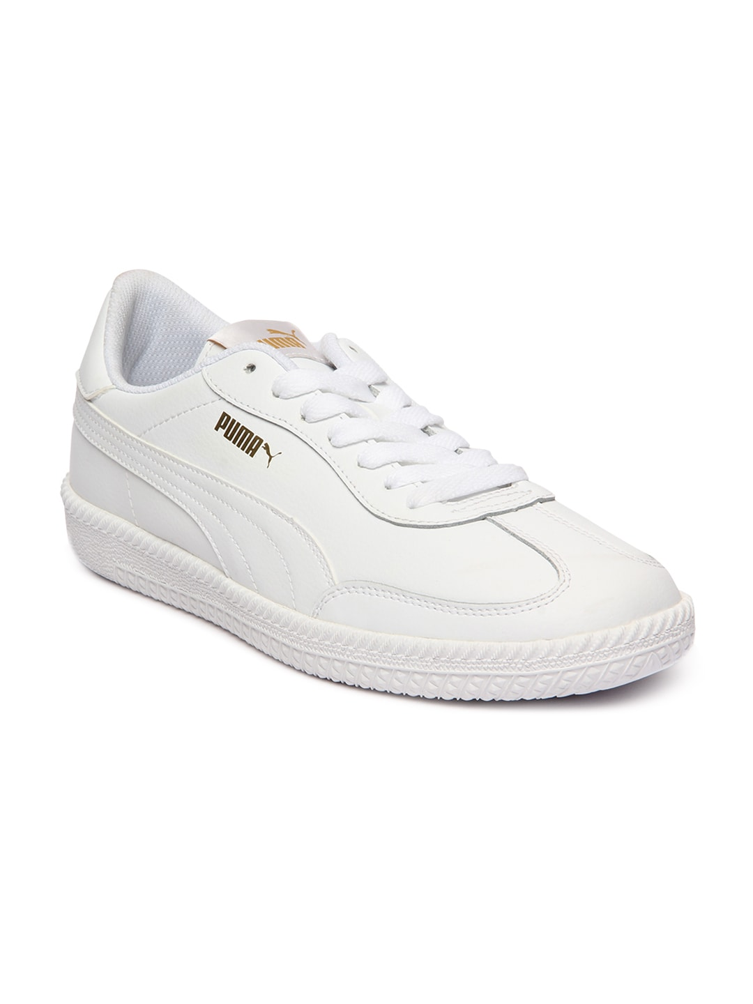 19257913abf011 Buy Puma Unisex White Match 74 Tumbled Sneakers - Casual Shoes for ...