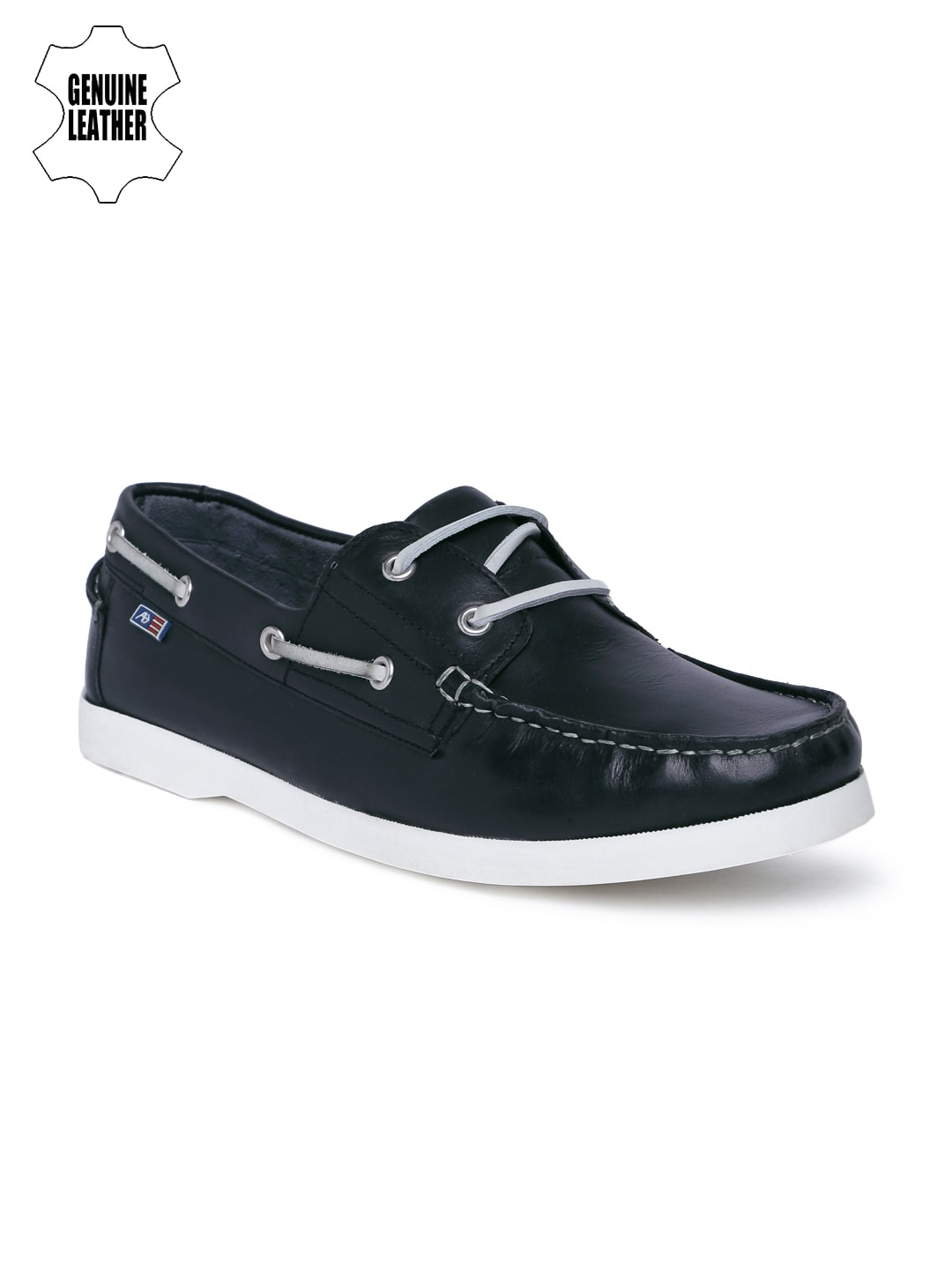 Arrow Hindren Navy Blue Moccasins for Men online in India at Best ... 56d74e71f