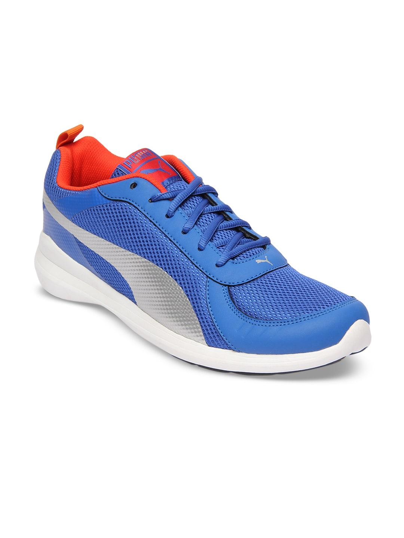 Buy Puma Men Blue Escaper Tech Running Shoes - Sports Shoes for Men ... 4fce65296