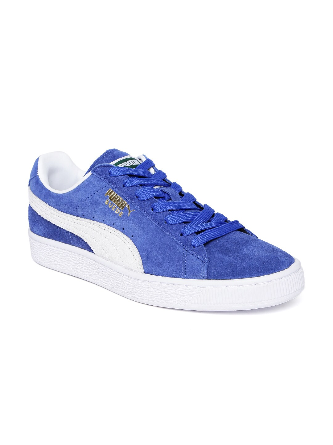 9aa283b9573f2a Buy Puma Men Red Urban Plus SD Suede Sneakers - Casual Shoes for Men ...