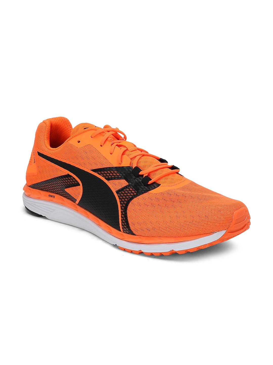 4cb30aa2d34a Buy Puma Men Red Speed 100 R IGNITE 2 Running Shoes - Sports Shoes ...