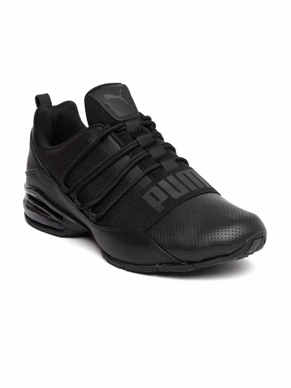 Buy Puma Men White   Black Cell Regulate SL Sports Running Shoes ... 57b774b09